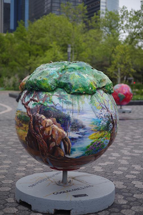 globe art 1