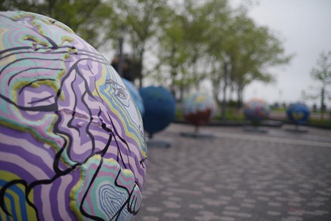 globe art 3